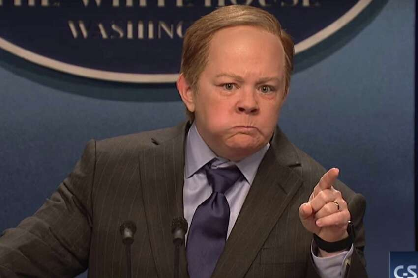 Melissa McCarthy as Sean Spicer Spicer himself has called the impression