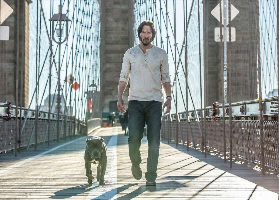 "In the sequel ""John Wick: Chapter 2,"" Keanu Reeves is oddly passive as a man who goes all over New York City shooting, stabbing and beating people even though he doesn't really want to. Photo: Summit Entertainment"