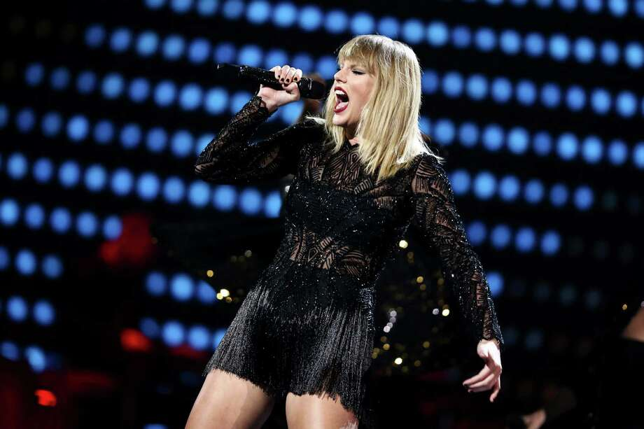 Taylor Swift performs at DIRECTV NOW Super Saturday Night Concert at Club Nomadic on Saturday, Feb. 4, 2017 in Houston, Texas. (Photo by John Salangsang/Invision/AP) Photo: John Salangsang, INVL / 2017 Invision