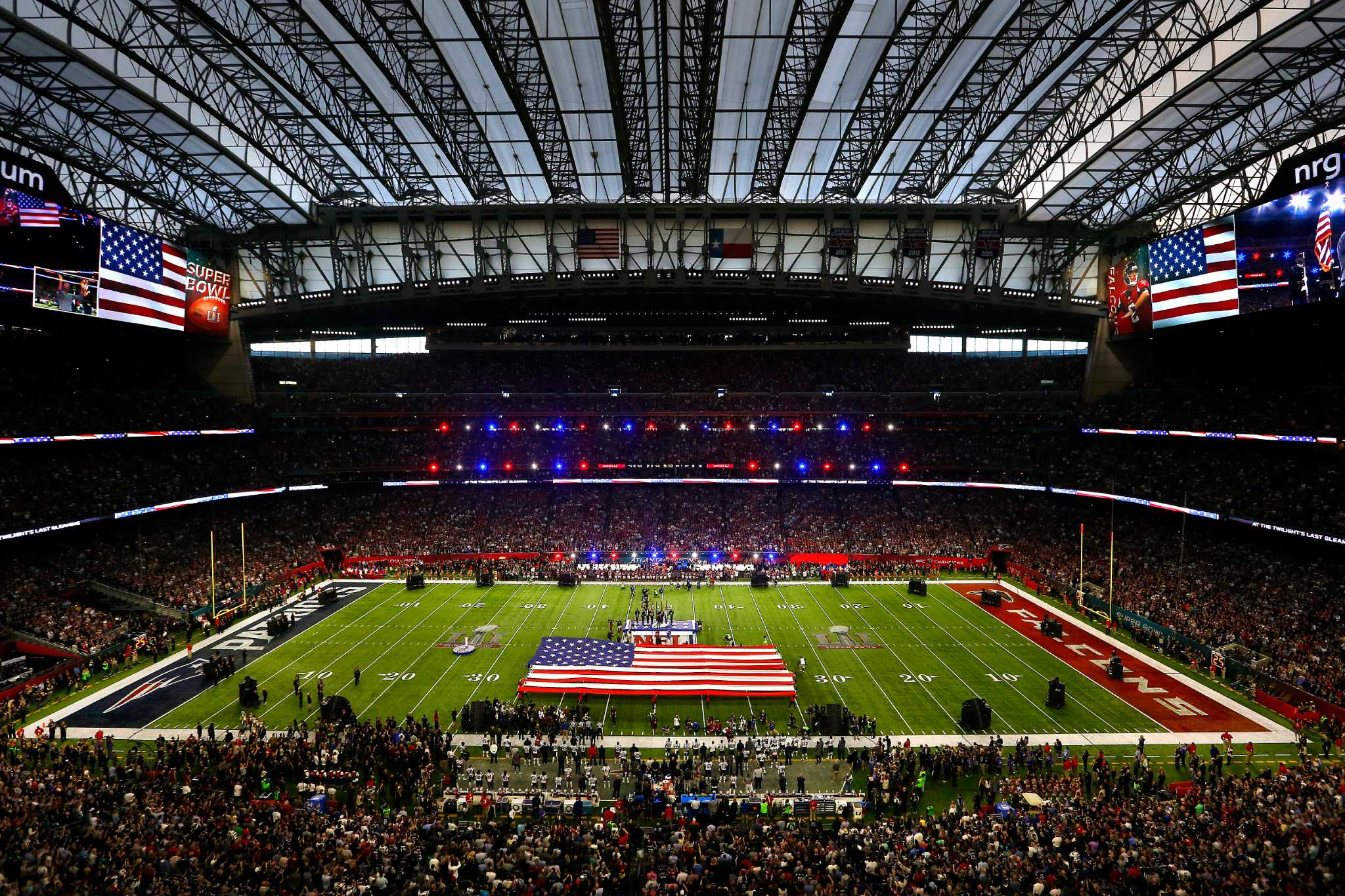 Photos: Super Bowl 51 hits Houston's NRG Stadium - Houston ...