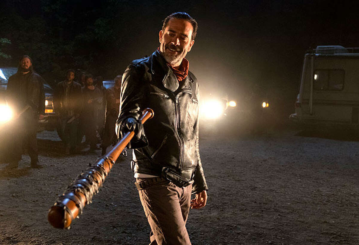 Negan- The Sanctuary The season's primary antagonist returned to his home base The Sanctuary after killing two Alexandria residents in the midseason finale.