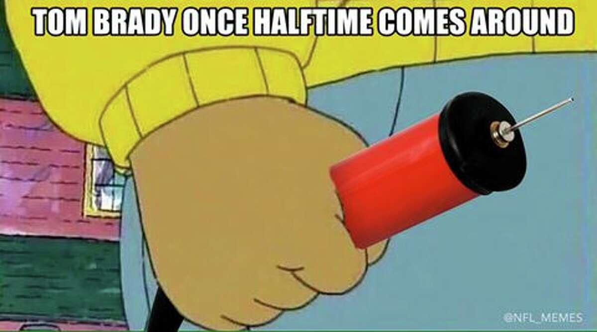 That wild Super Bowl turnaround.