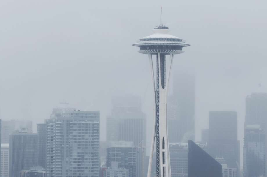While the rest of the world gets warmer, Seattle has had a very cool start to 2017. Photo: GRANT HINDSLEY / SEATTLEPI.COM