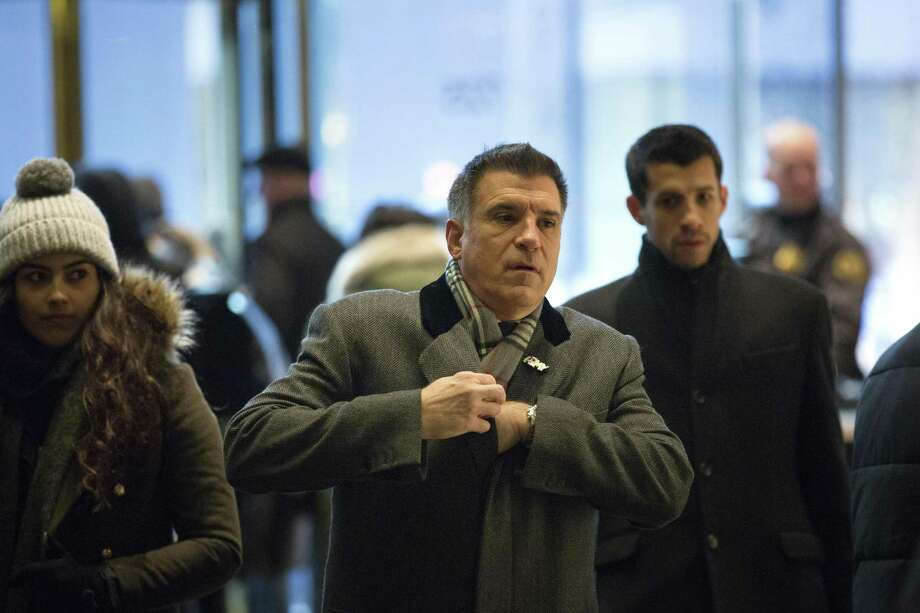 FILE — Vincent Viola, a billionaire Wall Street trader and President Trump's nominee for secretary of the Army, arrives at Trump Tower on Fifth Avenue in New York, Dec. 16, 2016. Viola withdrew his name for the post in February after concluding it would be too difficult to untangle himself from his business ties. (Kevin Hagen/The New York Times) Photo: KEVIN HAGEN, STR / NYT / NYTNS