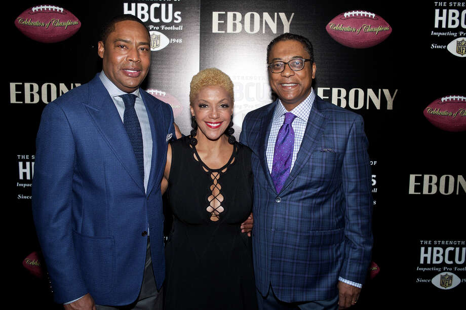 Ebony magazine's Celebration of Champions Super Bowl party.  Photo: Ebony.com