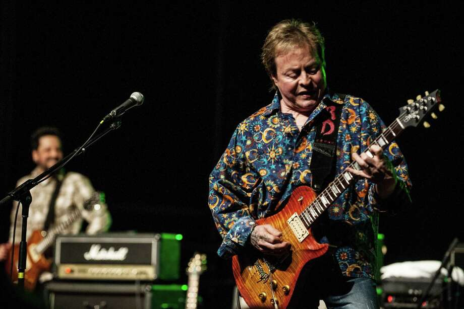 Guitarist Rick Derringer will have stories to tell at the Tobin Center on May 25. Photo: Larry Hulst, Getty Images / 2014  Larry Hulst