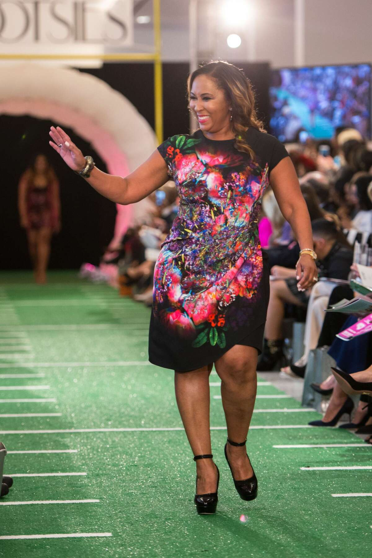 NFL Wives Off the Field Fashion Show at Tootsies Houston