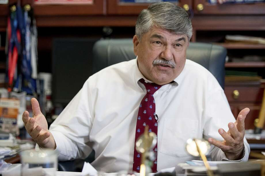 AFL-CIO President Richard Trumka doesn't believe Trump will try a Wisconsin-style assault on the federal civil service. He thinks even the GOP-controlled Congress wouldn't allow it. Photo: Andrew Harnik, Associated Press