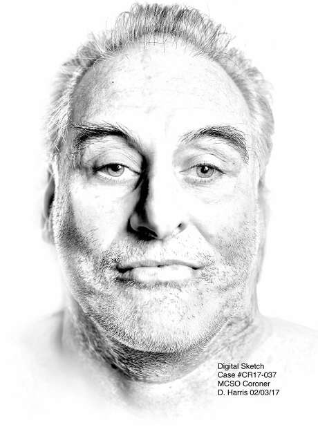 """The Marin County Coroner released a """"digital sketch"""" on Sunday of an unidentified man who was killed by a hit-and-run driver on Thursday in Novato. Photo: Marin County Sheriff's Office / /"""