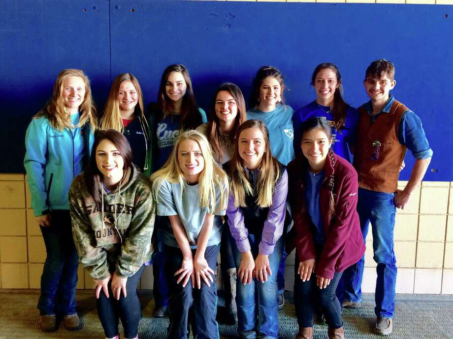 Friendswood FFA Show Cattle Team attended the Fort Worth Stock Show on January 20-21. A number of students placed in their class. Gracie Kempken placed second; Hailey Binkley took third; Hailey Bratton was fifth; Olivia Cates was sixth; Kenzie Jeter placed seventh; John Aldridge was ninth; Rachel Pate placed 10th, Magan Cotham was 11th; and Emily Pate placed 20th. Trevor Reifel and Rachel Hults are the Sponsors for the FFA Show Team.