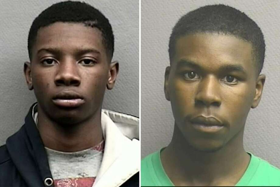 Rahari Randell (left), 20, and Desmond Ray Williams (right),19, were recently charged with murder several months after a victim of a 2017 shooting died.  Photo: Houston Police