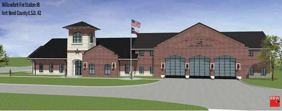 Fort Bend County Emergency Services District No. 2 and the Willowfork Fire Department will break ground at 2 p.m. Feb. 10 for their third fire station. The station will be at 2700 Spring Green Blvd. Photo: FBC ESD No. 2