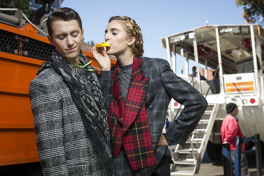 The beauty of plaid — and the horror of it's getting ripped off. Photo: Russell Yip, The Chronicle