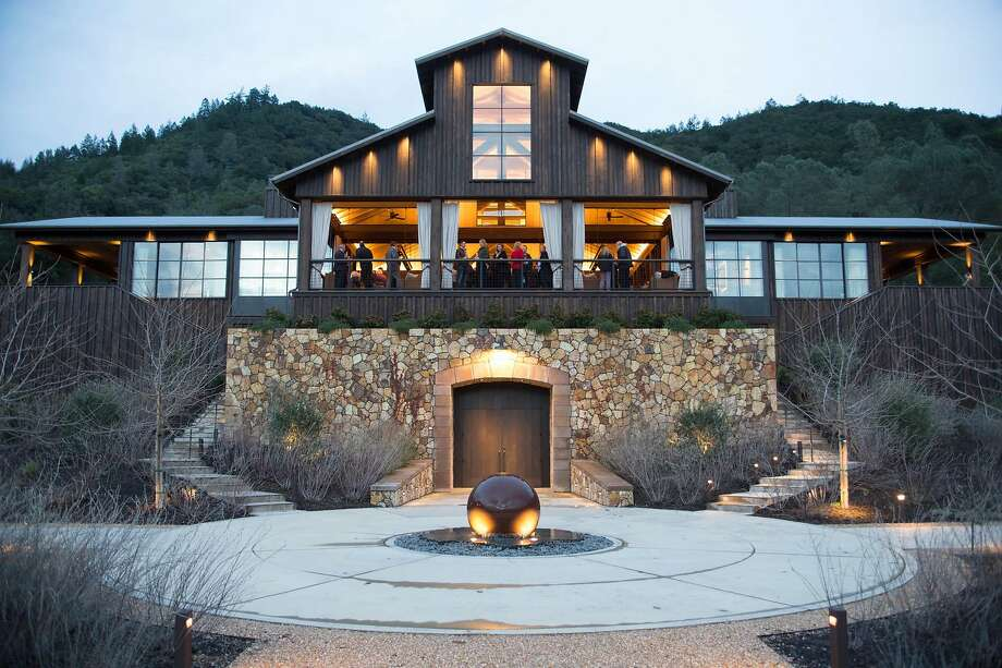 Davis Estate in Napa hosted the 2017 Official Wine Judges Dinner at the winery's redesigned century-old barn that is the focal point of the property. Photo: Dan Dion