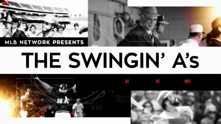 """""""The Swingin' A's"""" will air on MLB Network at 6 p.m. Tuesday. Photo: Courtesy MLB Network"""