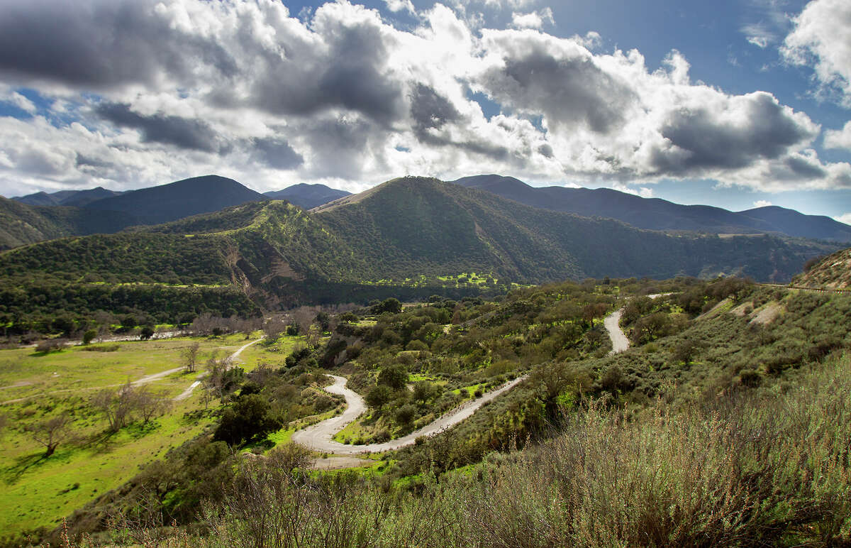 The view from Arroyo Seco Road in Monterey County's Carmel Valley. Things you won't see out here include, many people or cell phone service.