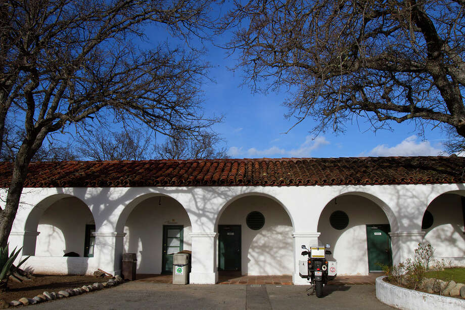 """The """"cowboy rooms"""" at the Hearst Hacienda on the grounds of what is now the Army's Fort Hunter Liggett in southern Monterey County. Photo: Chris Preovolos / (c) 2015"""