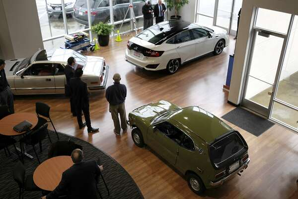 New Honda fuel-cell car, Clarity, lands in Bay Area