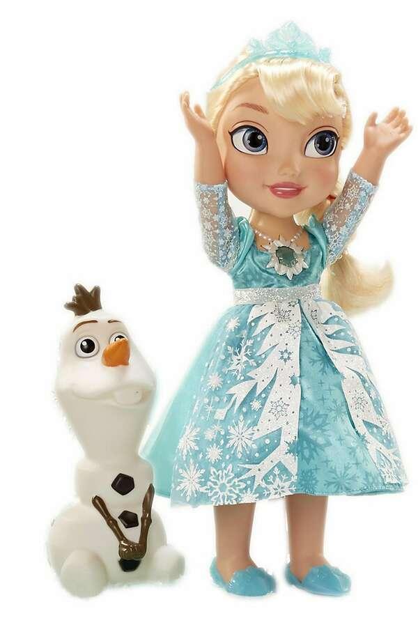 My First Disney Princess Frozen Snow Glow Elsa Singing Doll ($49.99, amazon.com) (Disney) Photo: Disney, TNS