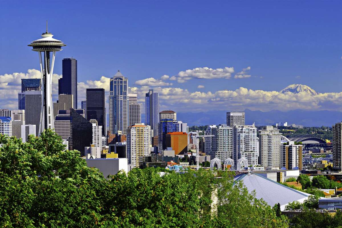 No. 2: Seattle This city was named the second most romantic city in the nation by Instacart. Bet they bought a lot of coffee, too.