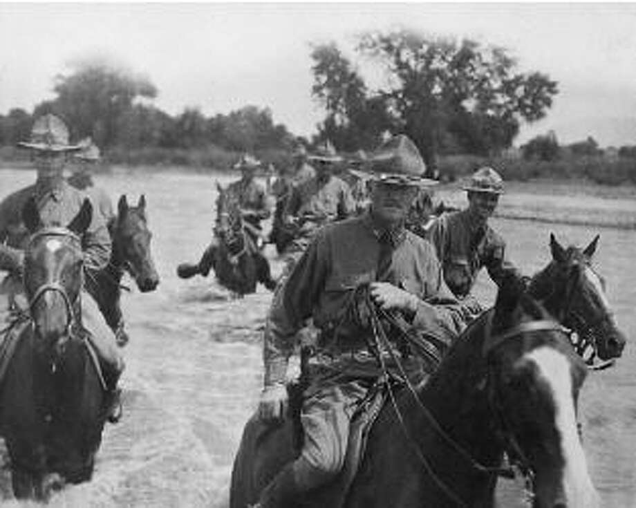 "If President Donald Trump follows through on talk of sending troops into Mexico, history will repeat.President Woodrow Wilson ordered Brigadier Gen. John J. Pershing and 100,000 troops across the Rio Grande River and into Mexico in 1916 to find Mexican Gen. and bandit Pancho Villa. Echoes of the famed Mexican Expedition have surfaced with Donald Trump's talk of sending U.S. troops into Mexico to deal with ""bad hombres"" south of the border.Keeping going to see more images from Pershing's Punitive Expedition.  Photo: Getty Images"