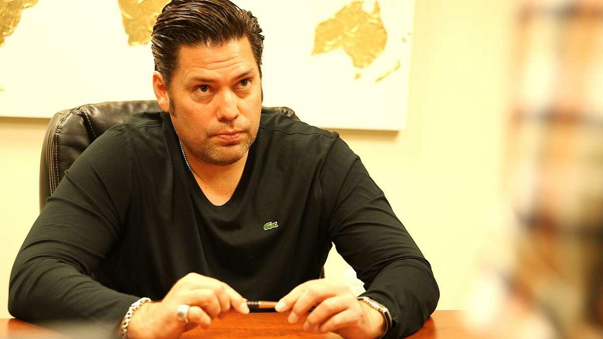 San Antonio real estate investor and former reality TV star Armando Montelongo.