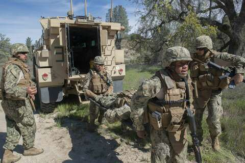 22 soldiers hurt at California base when tent collapses - SFGate
