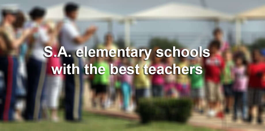 Click ahead to see the elementary schools with the best teachers in the San Antonio area. Photo: Mysa