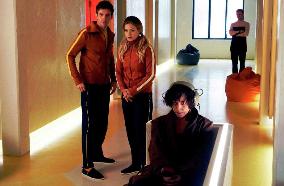 "Dan Stevens, from left, Rachel Keller and Aubrey Plaza star in FX's ""Legion."" Photo: Courtesy Photo / Copyright 2016, FX Networks. Credit: Chris Large/FX."