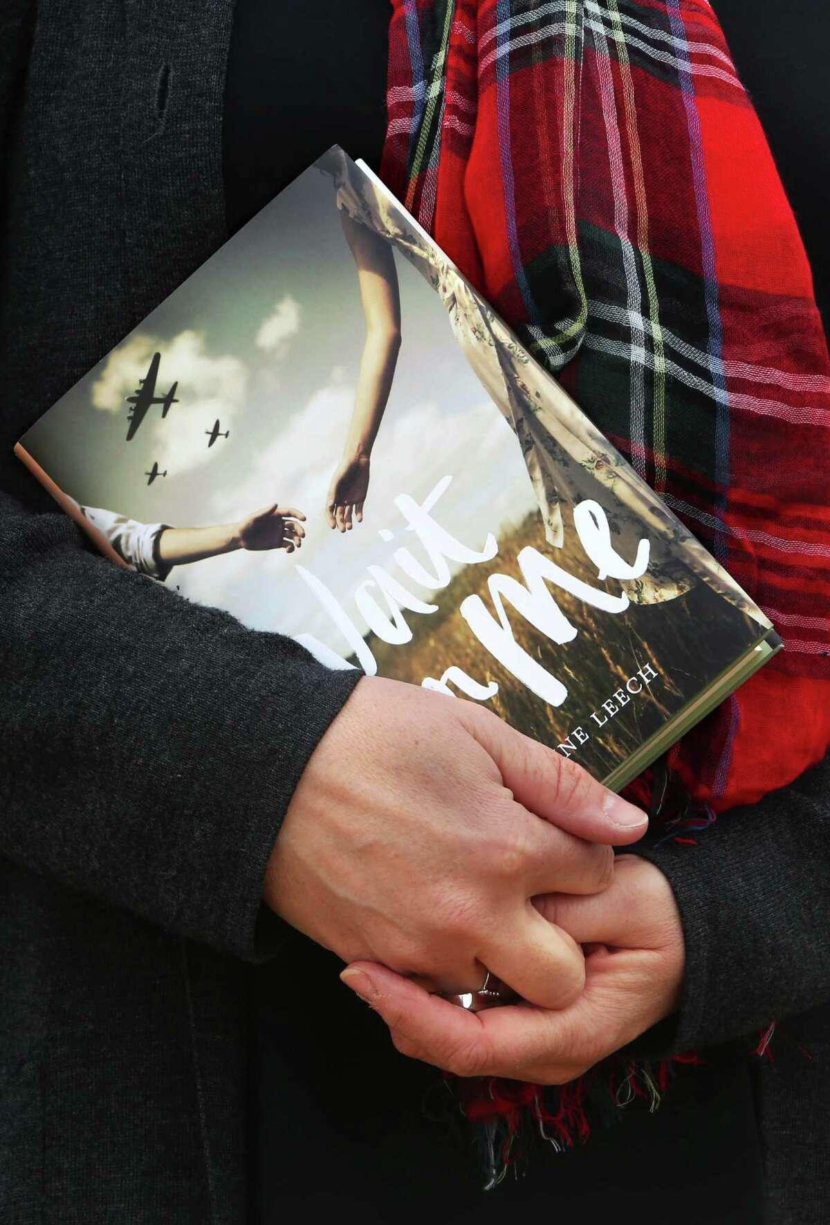 """Wait for Me,"" a wartime romance set in Scotland, is Caroline Leech's debut novel."
