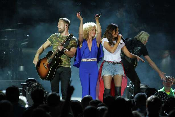 Little Big Town performing at the Woodlands.  (For the Chronicle/Gary Fountain, October 20, 2016)