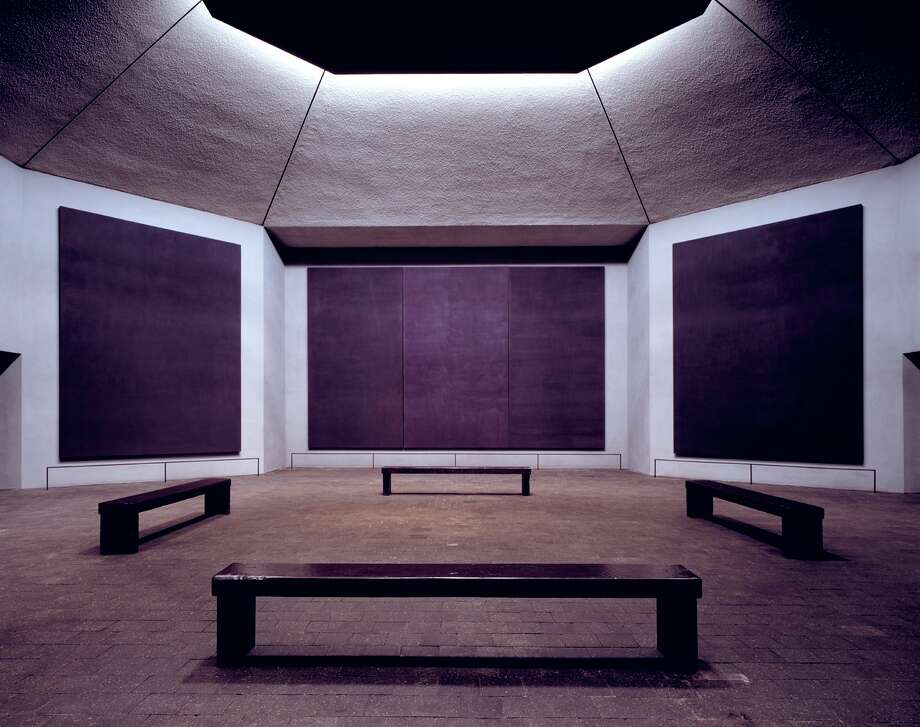 A view inside the Rothko Chapel. / handout