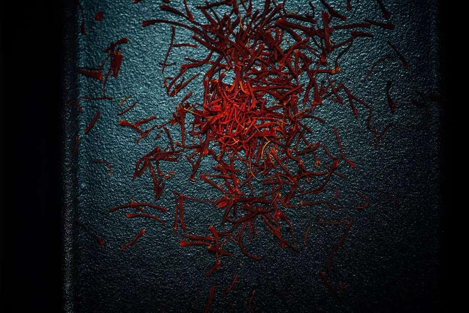 Saffron threads. Photo: Nik Sharma