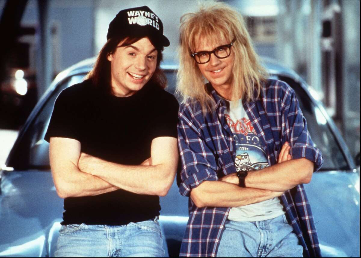 Mike Meyers and Dana Carvey returned as the self-styled Party Boys with their own cable TV show in