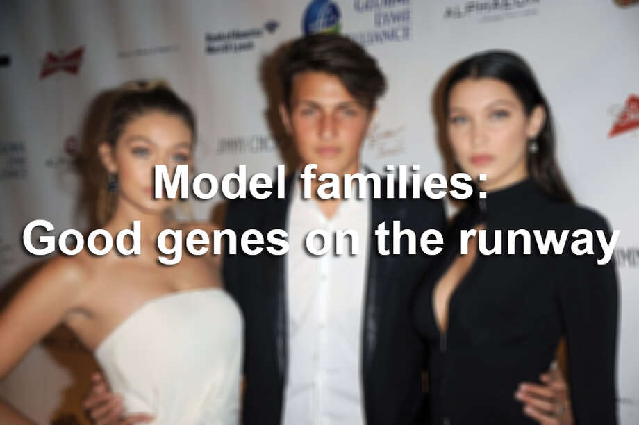 Keep clicking for a look at families whose good genes have earned them a place in the limelight. Photo: Chance Yeh/WireImage