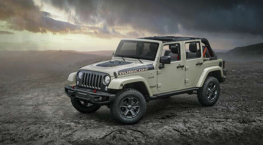 2017 Jeep Wrangler Rubicon ReconFiat Chrysler introduces the new 2017 Jeep Wrangler Rubicon Recon, with more off-road prowess, including a stronger front axle, Feb. 6, 2017. Photo: FCA US LLC, Fiat Chrysler America