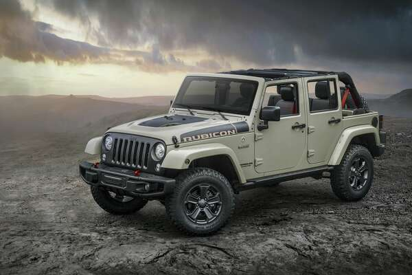 2017 Jeep® Wrangler Rubicon Recon Fiat Chrysler introduces the new 2017 Jeep Wrangler Rubicon Recon, with more off-road prowess, including a stronger front axle, Feb. 6, 2017.