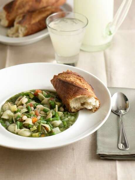 Don't let dried beans intimidate you in the kitchen. Try this Italian Summer Vegetable Stew, for example. Photo: Courtesy Culinary Institute Of America / ©2008 The Culinary Institute of America