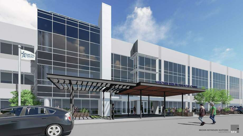 The 130,000 square foot Westway Park Technology Center, a satellite center of Lone Star College-CyFair is expected to open in spring 2018. Photo: Lone Star College