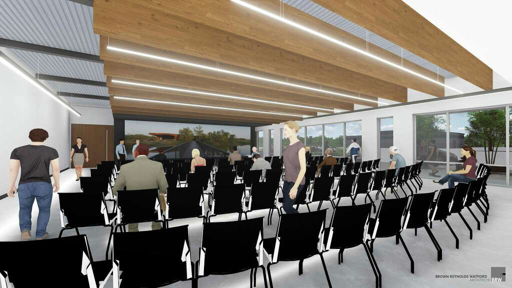 Lone Star College CyFair Is Scheduled WestWay Park Will Include A Learning Theater With Large Visualization Wall That Can Be Used