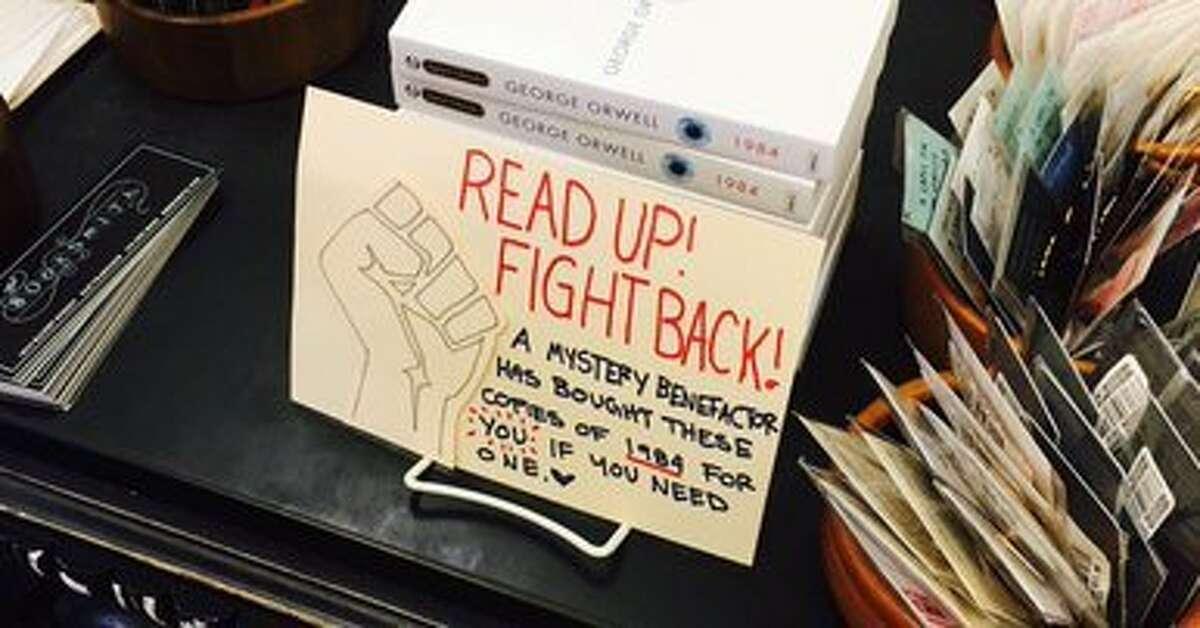 Display at Booksmith on Haight Street