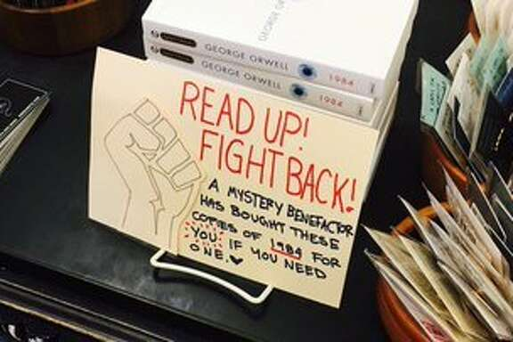 Display at Booksmith on Haight Street