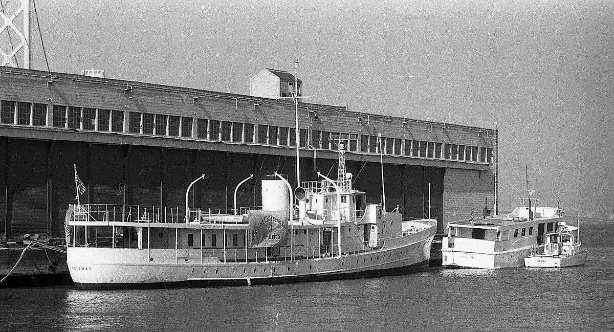 The Potomac, the former presidential yacht of Franklin D. Roosevelt was seized in a $40 million marijuana bust, September 11, 1980 Here is the Potomac, and the Valkeryie