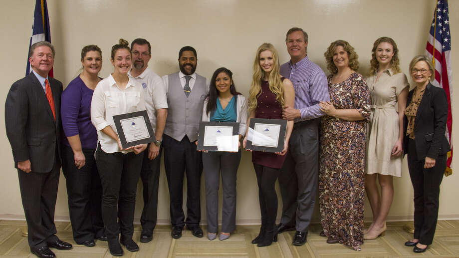 InsurMark, a national insurance marketing organization, awarded three scholarships to local Houston students. Photo: Submitted