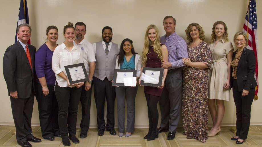 InsurMark, a national insurance marketing organization, awarded three scholarships to local Houston students. Photo: Submitted
