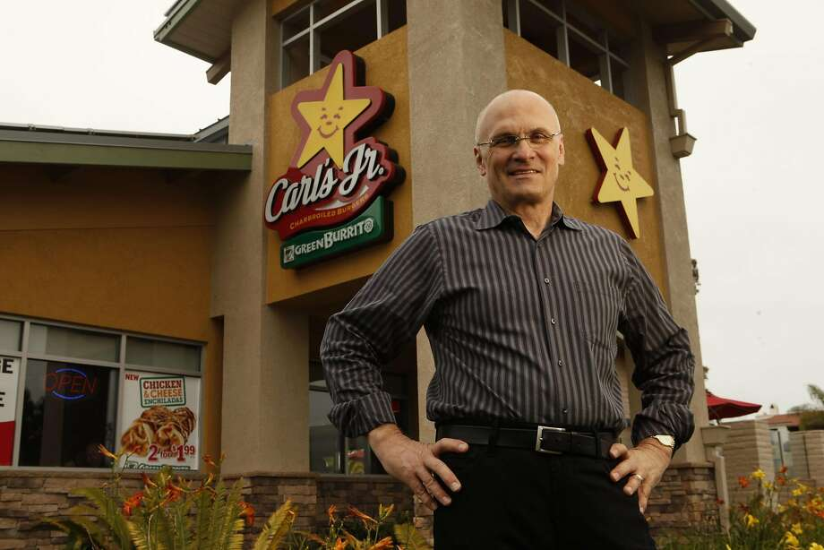 Andy Puzder, CEO of restaurant fast food chains, admitted to employing a housekeeper who was in the U.S. illegally. Photo: Al Seib, MCT