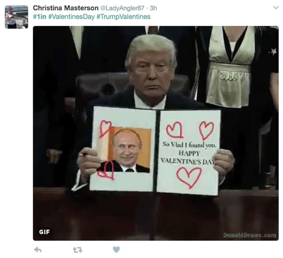 In an attempt to distance himself from Putin, President Donald Trump accidentally created a new Twitter hashtag. Twitter users promptly responded.