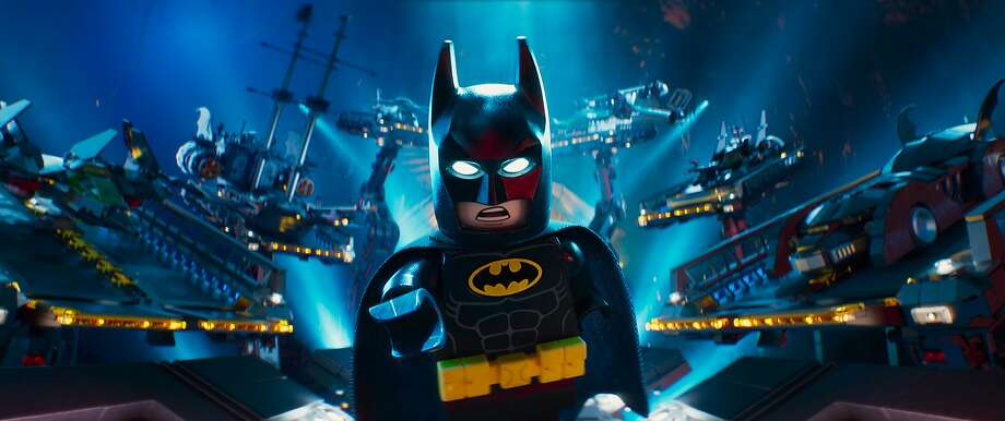 "Will Arnett hits just the right note in the title voice role of ""The Lego Batman Movie."" Photo: Warner Bros. Pictures, Associated Press"