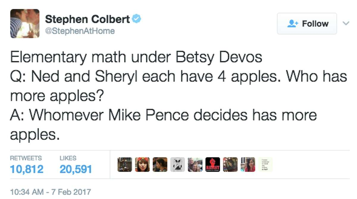 Twitter reacts to the confirmation of Betsy DeVos as Secretary of Education in a historic vote that required Vice President Mike Pence to cast a tie-breaking vote on Feb. 7, 2017.