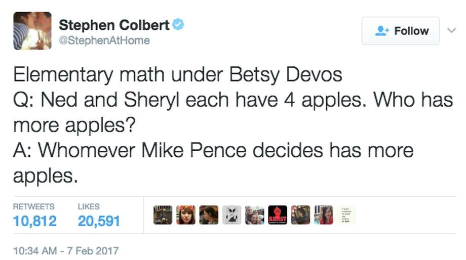 Twitter reacts to the confirmation of Betsy DeVos as Secretary of Education in a historic vote that required Vice President Mike Pence to cast a tie-breaking vote on Feb. 7, 2017. Photo: Twitter Screen Grab